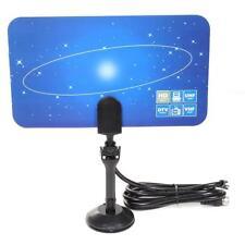Hot Digital Indoor TV Antenna HDTV DTV Box Ready HD VHF UHF High Flat Gain #