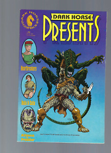 Dark Horse Presents 36  1st Print Variant Cover ALIENS V PREDATOR 1989 NM-