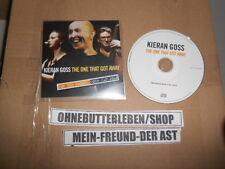 CD Pop Kieran Goss - The One That Got Away (4 Song) Promo COG CUMMUNICATION Folk