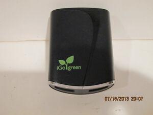 iGO Green Laptop Universal Wall power supply , #6630089-300 2 USB PORTS-FREE SHP