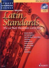 Schott Saxophone Lounge Latin Standards Alt Sax Play-Along Noten CD Dirko Juchem