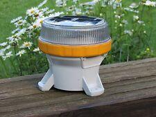3 Carmanah Solar Powered LED Marine Light Lantern M650 Yellow *NEW*