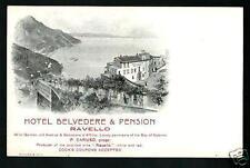 Ravello ( Salerno ) : Hotel Belvedere - non viaggiata indicativamente primi '900
