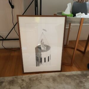 FRAMED DAVID HOCKNEY Original Etching 1969-70 Ed. 400 Six Fairy Tales Brothers