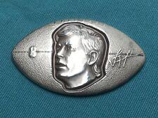 1 oz Silver NFL Dallas Cowboys Troy Aikman Vintage Football-Shaped Bullion Bar