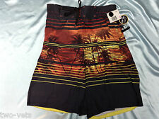 "MENS SWIM SHORTS~SMALL JOE BOXER INSEAM 9"" 100% POLYESTER NEW FREE SHIPPING"