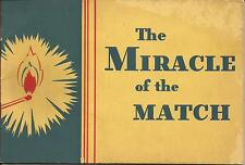 The Miracle of the Match. Karo Syrup Recipes