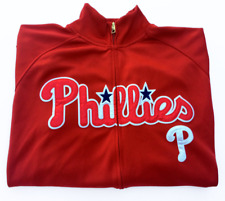 Nike Philadelphia Phillies MLB Spell Out Track Jacket Zip Pockets XL