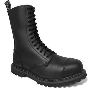 Grinders Herald CS Commando Mens 14 Eye Combat Steel Toe Cap Boots Size UK 7-12