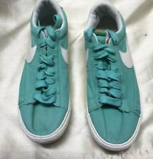 Nike Mint Green Fabric Trainers Sz 6UK 40EU