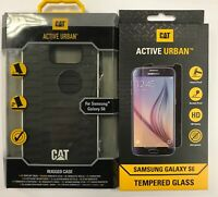 JCB Screen Protector FAST N FREE Blue CAT Active Urban Rugged Case iPad Air