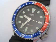 1996 Seiko 150m Automatic Gent's Black Dial Watch 7002-7000 - SDS001 Original