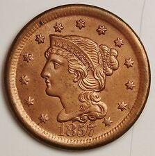 1857 Large Cent.  B.U.  102292