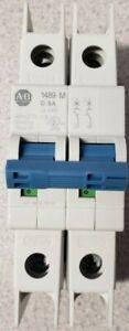 Allen Bradley, 1489-M2D050, 1489-M Miniaure Circuit Breaker, 2 Pole, UL489, 5A
