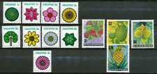 SINGAPORE 1973 - FLOWERS AND PLANTS - MNH SET OF 13 STAMPS  Sp68c