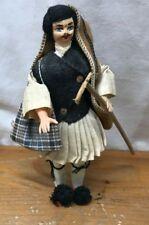 Haunted Vintage Russian Russia Asian Figure Doll Antique Shepard Herder Man