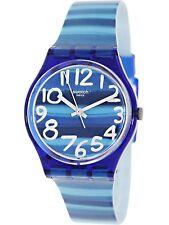 Swatch Women's Originals GN237 Blue Plastic Swiss Quartz Fashion Watch