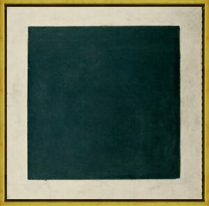 Framed Kazimir Malevich Black Square Giclee Canvas Print Paintings Poster