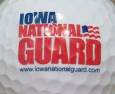 NATIONAL GUARD IOWA UNITED STATES US MILITARY LOGO GOLF BALL