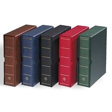 Lighthouse Vario Giant 3 Rings Binder & Slipcase Album Banknotes Coin Collection