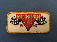 1991 MICHIGAN 400 Racing Uniform Patch NASCAR MIS Dale Jarrett Davey Allison
