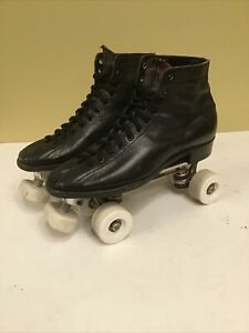 Men's Vintage Chicago Custom Hyde Roller Skates ALL AMERICAN PLUS Wheels sz 8