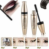 Waterproof Black 3D Fiber Long Curling Eyelash Mascara Extension Cosmetic Makeup