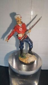 Sergeant 24th Foot 1879 Pewter Soldier 54mm Figurine Franklin Mint?