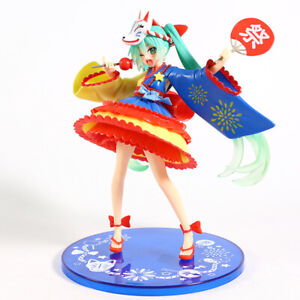 Hatsune Miku Summer Festival Ver. PVC Figure Collectible Vocaloid Miku Toy Doll