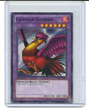 Crimson Sunbird CBLZ-FR090 Yu Gi Oh 3x oiseau du soleil cramoisi