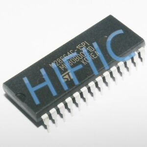 1PCS M28C64C-15P1 64 Kbit (8Kb x8) Parallel EEPROM DIP28