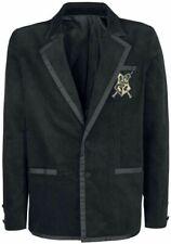 Harry Potter Hogwarts Black Velvet Dueling Club Blazer Jacket Cosplay Costume L