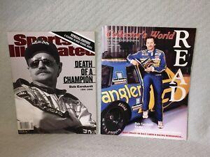 1991/2001 LOT OF 4 VINTAGE DALE THE INTIMIDATOR EARNHARDT Auto Racing MAGAZINES