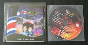 CD COSTA RICA PURA VIDA / FOLCLOR DE EXPORTACION / 2006