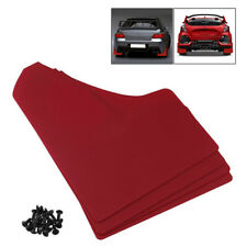 Mudflaps/Mud Flaps Red Race/Racing Rally Car Performance Sports Universal 4pcs