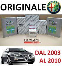 KIT TAGLIANDO 4 FILTRI ORIGINALI +OLIO SELENIA ALFA ROMEO GT 1.9 JTD 110KW 150CV