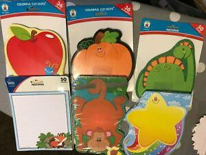 Carson-Dellosa  - Colorful Cut-Outs Designs for School Classroom Teachers Office