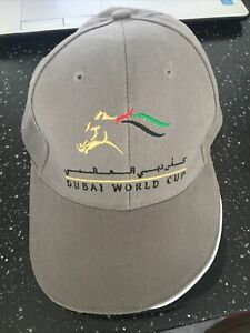 DUBAI WORLD CUP BASEBALL CAP . NEVER USED. HARD TO FIND
