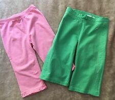 Place & Sonoma Pants Girls Size 6 &  6x/7  Pink Green