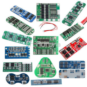 2S/3S/4S/5S/6S 3/5/8/10/15/20/30A 18650 Li-ion Lithium Battery Protection Board