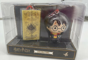 HARRY POTTER  & MARAUDER'S MAP HANGING DECORATIONS/TREE BAUBLES