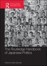 Routledge Handbook of Japanese Politics Hardcover by Gaunder Alisa B13-1