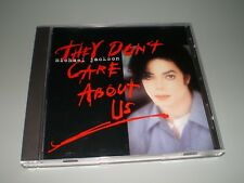 CD MAXI SINGLE USA ENHANCED MICHAEL JACKSON THEY DON'T CARE ABOUT US COMME NEUF