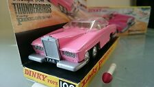 DINKY TOYS 100 LADY PENELOPES  FAB 1 GERRY ANDERSON THUNDERBIRDS