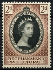 Mint Never Hinged/MNH Postage Bechuanaland Stamps (Pre-1966)