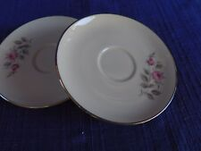 West Bend Rose Rhapsody (2) Saucers Set of Two have more items to this set
