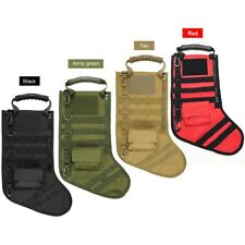 Tactical Molle Xmas Stocking Christmas Bag Sock Magazine Pouch Storage Gift