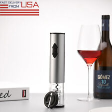 New listing Wine Bottle Opener Corkscrew With Pourer Foil Cutter Vacuum Stopper Set Electric