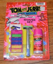 1992 JA-RU Tom & Jerry Shaving Set Toy Shaving Kit MINT Movie