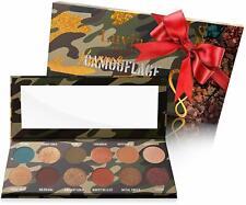 Luvia Lidschatten Palette Glitzer, Schimmer & Matt Make-Up 12 natürliche Farben